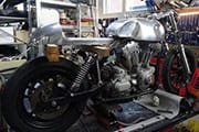 harley cafe racer thumb