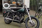 iron head sportster thumb